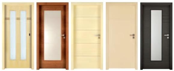 Interiérové dveře SAPELI - model NOTE - povrchy
